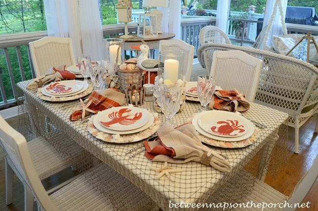 Nice Sea Themed Table Settings   Google Search | Table Settings | Pinterest |  Table Settings