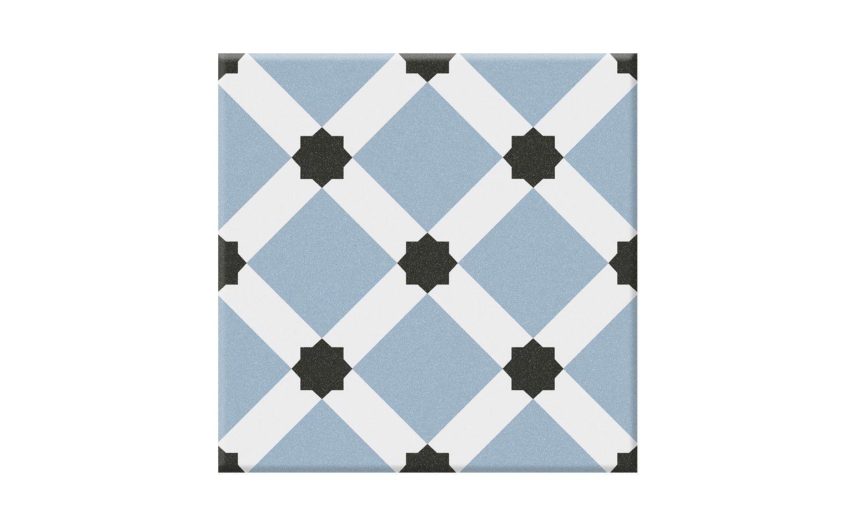 carrelage ciment palau aspect carreaux de ciment multicolore dim 20 x 20 cm cuisine. Black Bedroom Furniture Sets. Home Design Ideas