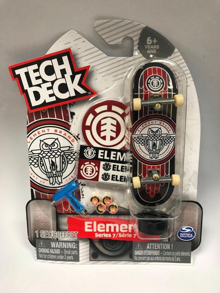 Tech Deck Element Owl Light Up The Dark Series 7 Ultra Rare