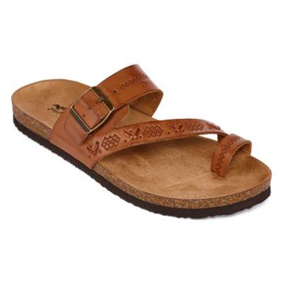 f8d363bff232 Arizona Sardinia Womens Flat Sandals - JCPenney