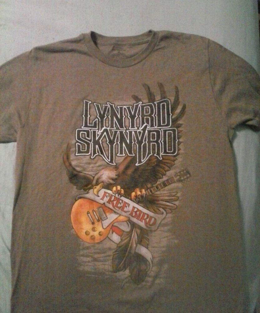 afc8b670 Vintage Lynyrd Skynyrd Free Bird Tshirt M Lynyrd Skynyrd, Vintage Men,  Bird, Ebay