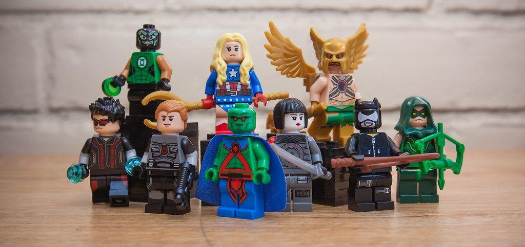 MARTIAN MANHUNTER DC COMICS MINIFIGURE FIGURE USA SELLER NEW IN PACKAGE