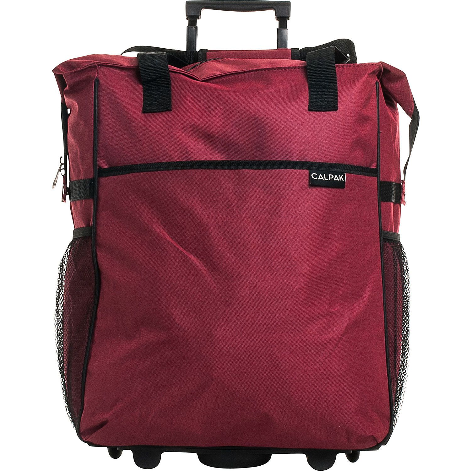 Buy The Calpak The Big Eazy 20 Rolling Tote At Ebags Available In A Variety Rolling Tote Bag Shopping Tote Bag Rolling Tote