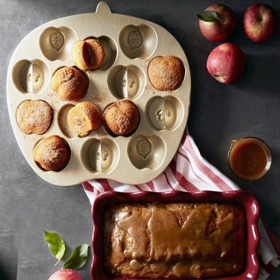 Emile Henry Ruffled Loaf Pan Cranberry Kitchen Idea