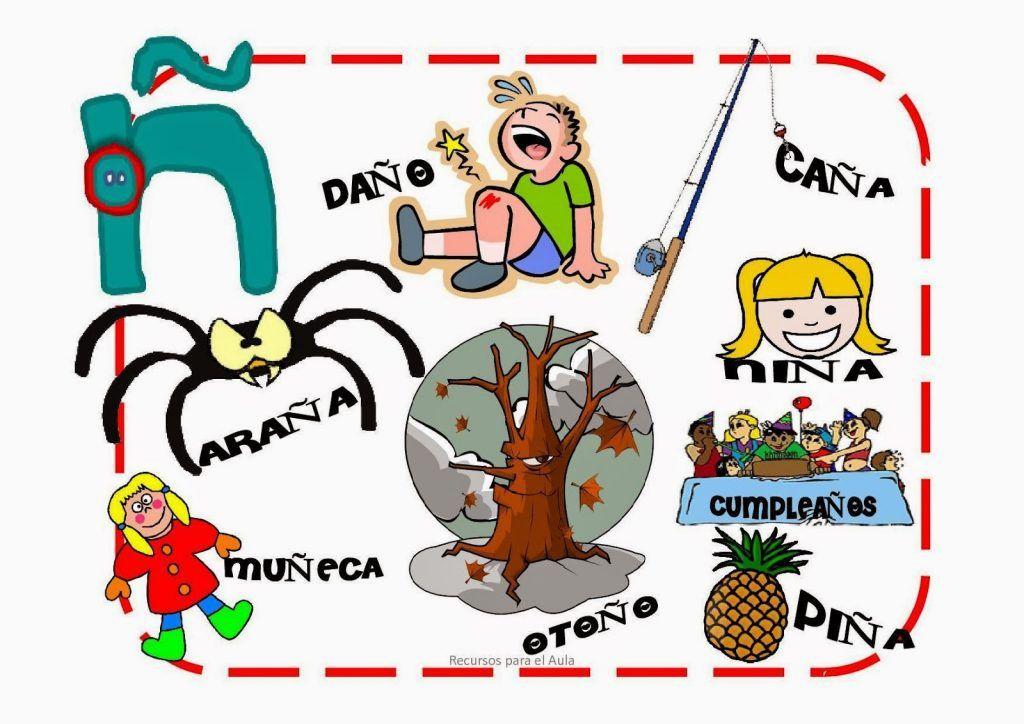 Palabras Con N Para Ninos Con Imagenes Para Imprimir Educanimando Palabras Con N Abecedario Para Ninos Palabras Con B
