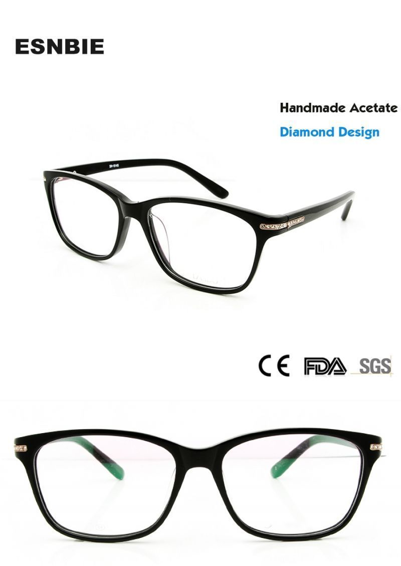 3db84df9d2 Fashion diamond luxury eye glasses frames for women myopia glasses optical  spectacle frame women brand design  eyeglasses  frames  women woman female  ...
