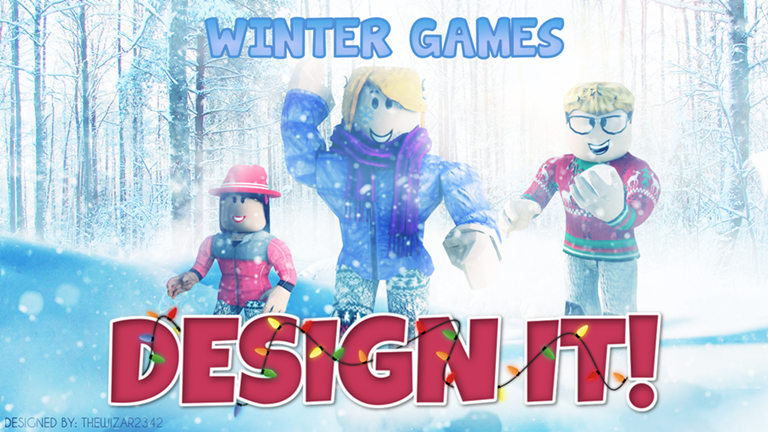 Design It! Winter Games ROBLOX (With images) Roblox