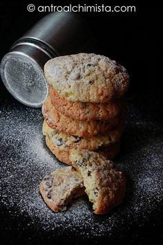 L'Antro dell'Alchimista: Biscotti con Farina di Avena e Gocce di Cioccolato - Cookies with Oatmeal and Chocolate Drops