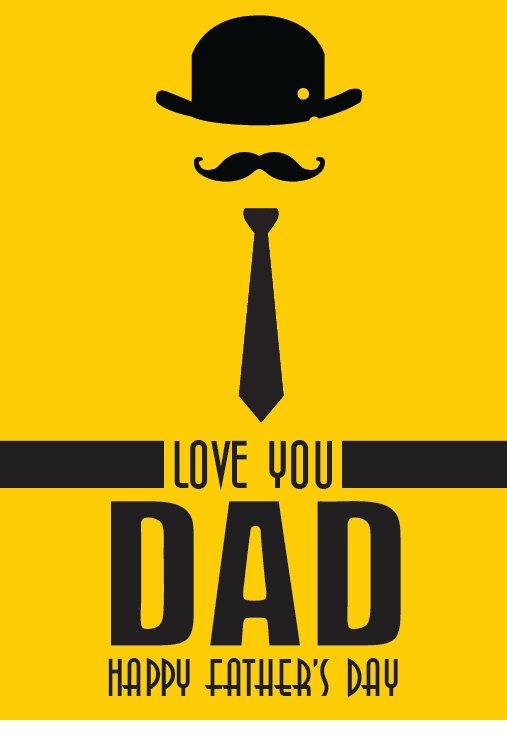 """0a1aec23 Items similar to Father's Day Poster """"Love you Dad"""", Father's Day Print, Fathers  Day Gift, Handmade Father's Day, Father's Day Quote on Etsy"""