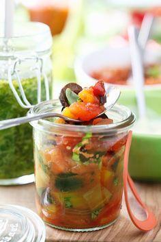 Italienisches Gemüse eingelegt #kombuchaselbermachen
