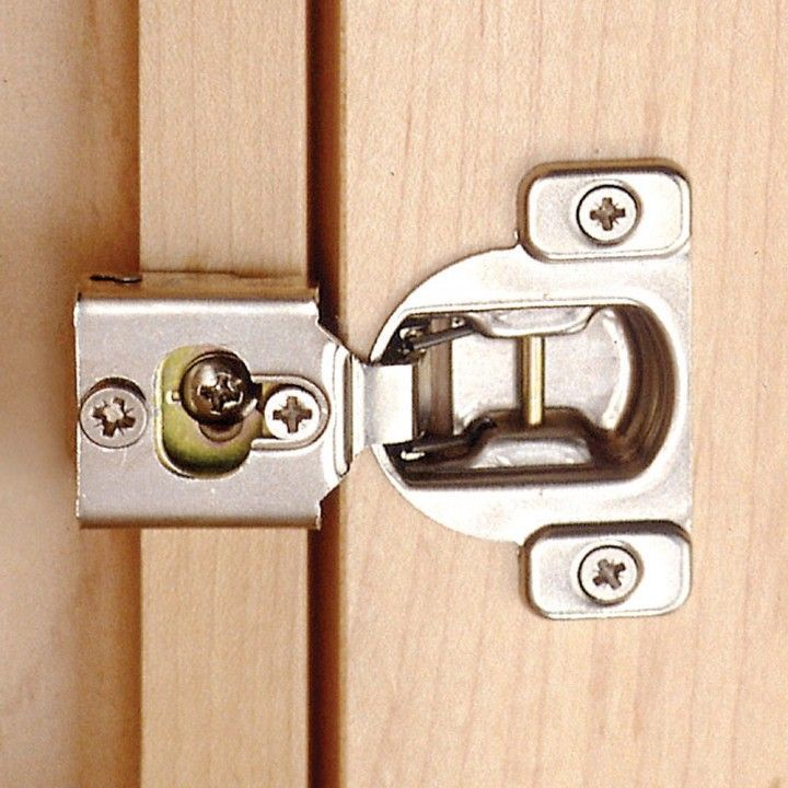 Blum® Nickel-Plated Face Frame Overlay Hinges | Face framing ...