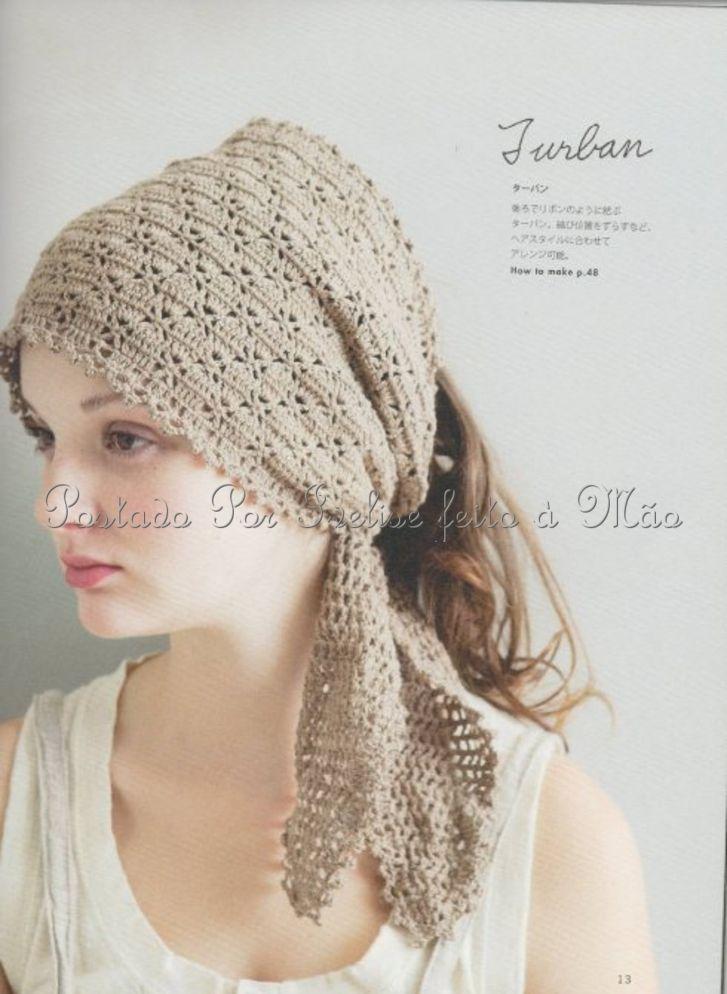 Ivelise Hand Made: Crochet Scarf In ... | Cro Headbands | Pinterest ...