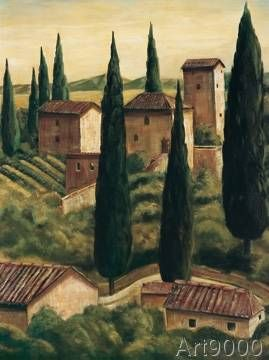 Maurizi Moretti - Tuscan Hillside II
