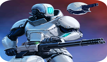 CyberSphere SciFi Third Person Shooter Mod Apk v1.8.9