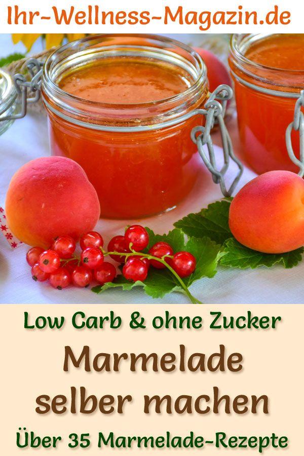 Photo of 40 Low-Carb-Rezepte für Marmeladen – hausgemacht & ohne Zucker