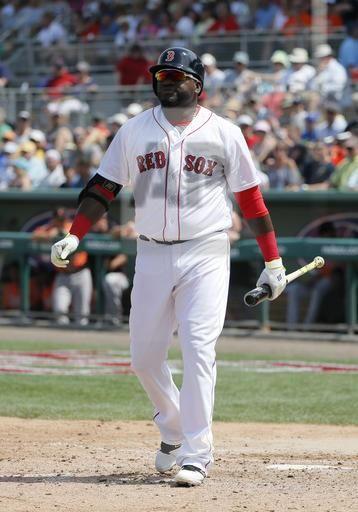 Orioles Red Sox Spring Baseball