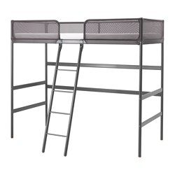 Tuffing Loft Bed Frame Dark Gray In 2019 Loft Beds