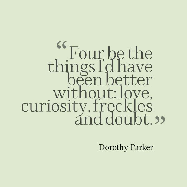 40 Dorothy Parker Quotes About 40thCentury Weaknesses And Impressive Dorothy Parker Quotes