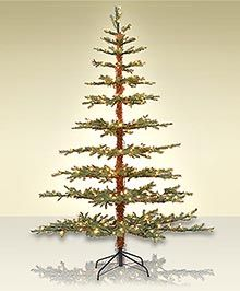 Old fashioned artificial christmas trees 46