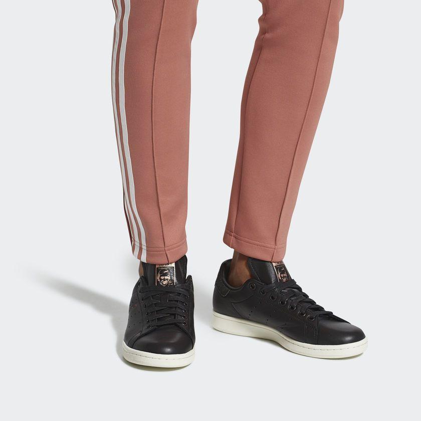 Zapatillas Stan Smith Mujer - Negro adidas  b9a200765e5