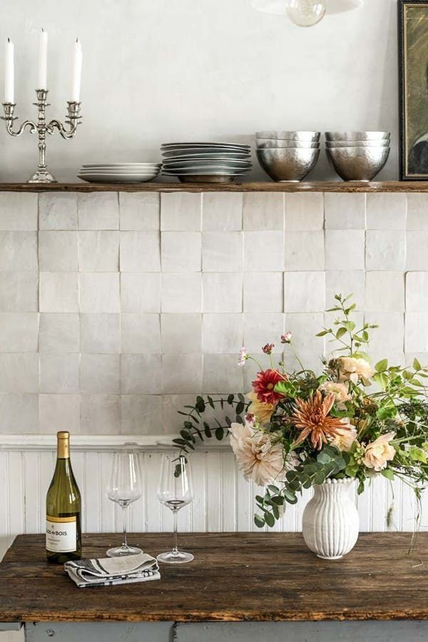 Photo of This Backsplash Trend Is Actually Totally Timeless
