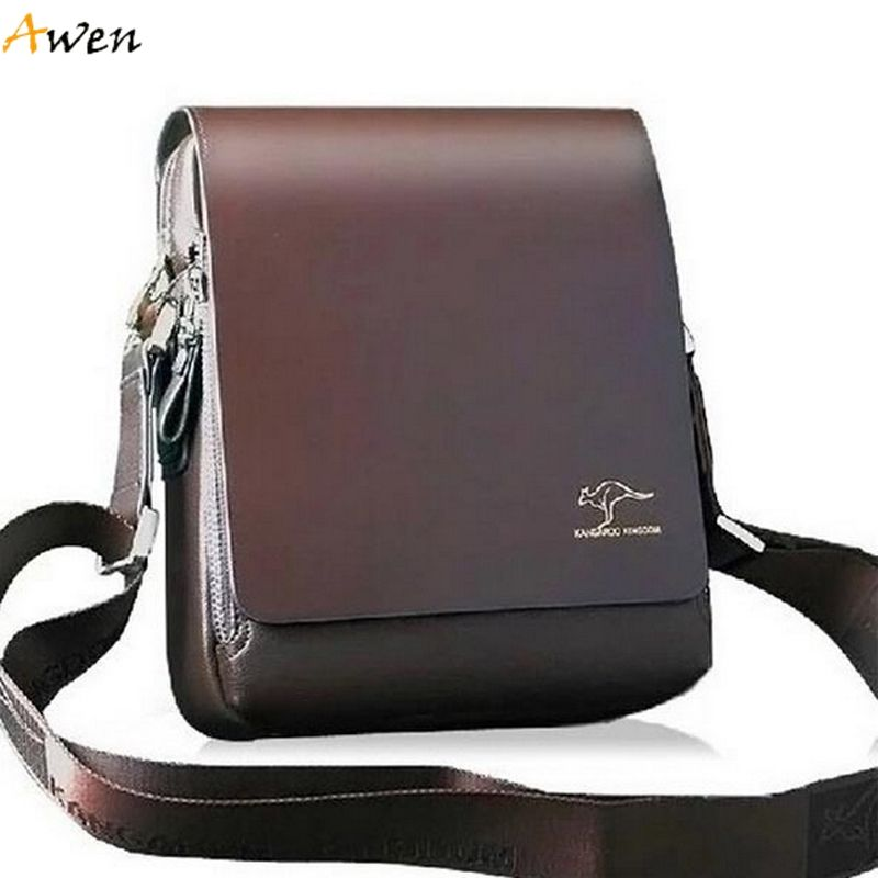 AWEN Free Shipping Hot Sell Promotion Brand Kangaroo Men Messenger ...