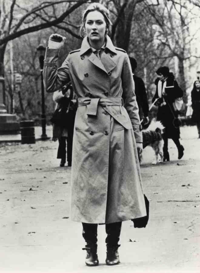 Meril Streep Burberry 1970  fb61238935