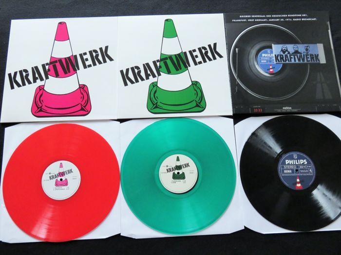 Online Veilinghuis Catawiki Kraftwerk Great Lot Of 3 Lp S Including 2x Coloured Vinyl Kralen