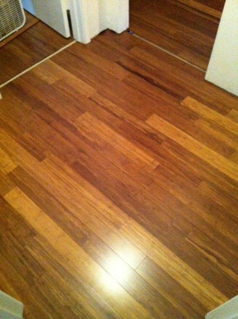 Carbonized Strand Woven Bamboo Flooring Just Great