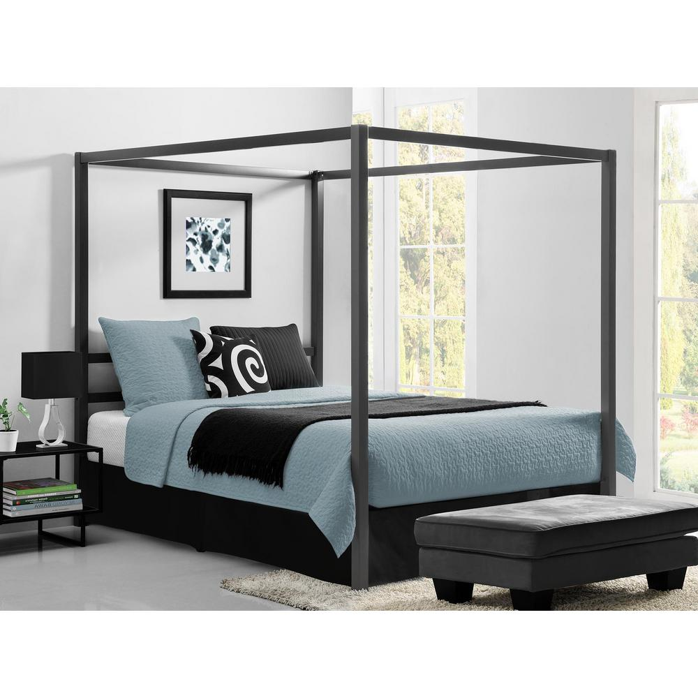 Overview Of Queen Size Beds Queen Size Beds Dhp Modern Canopy