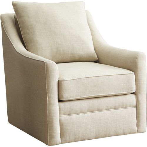 Superb $520 Cushions Not Reversible Found It At AllModern   Quincy Swivel Chair