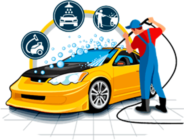View full size Car Graphics Vector Cleaning Wash Download