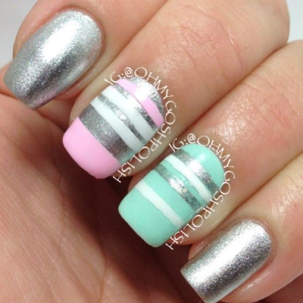 Instagram photo by ohmygoshpolish #nail #nails #nailart | Nails ...