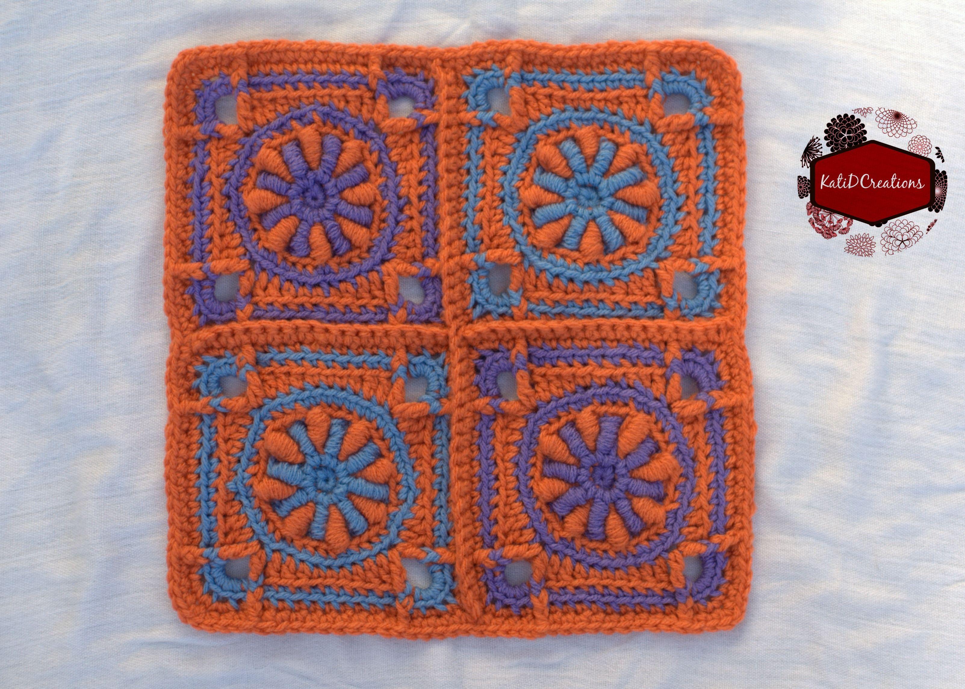 Quad lingotes Square - KatiDCreations.com | GRANNYS | Pinterest ...