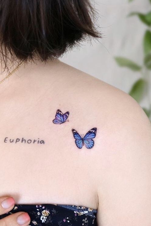 Butterfly Tattoo Ideas For Men and Women - Bein Kemen
