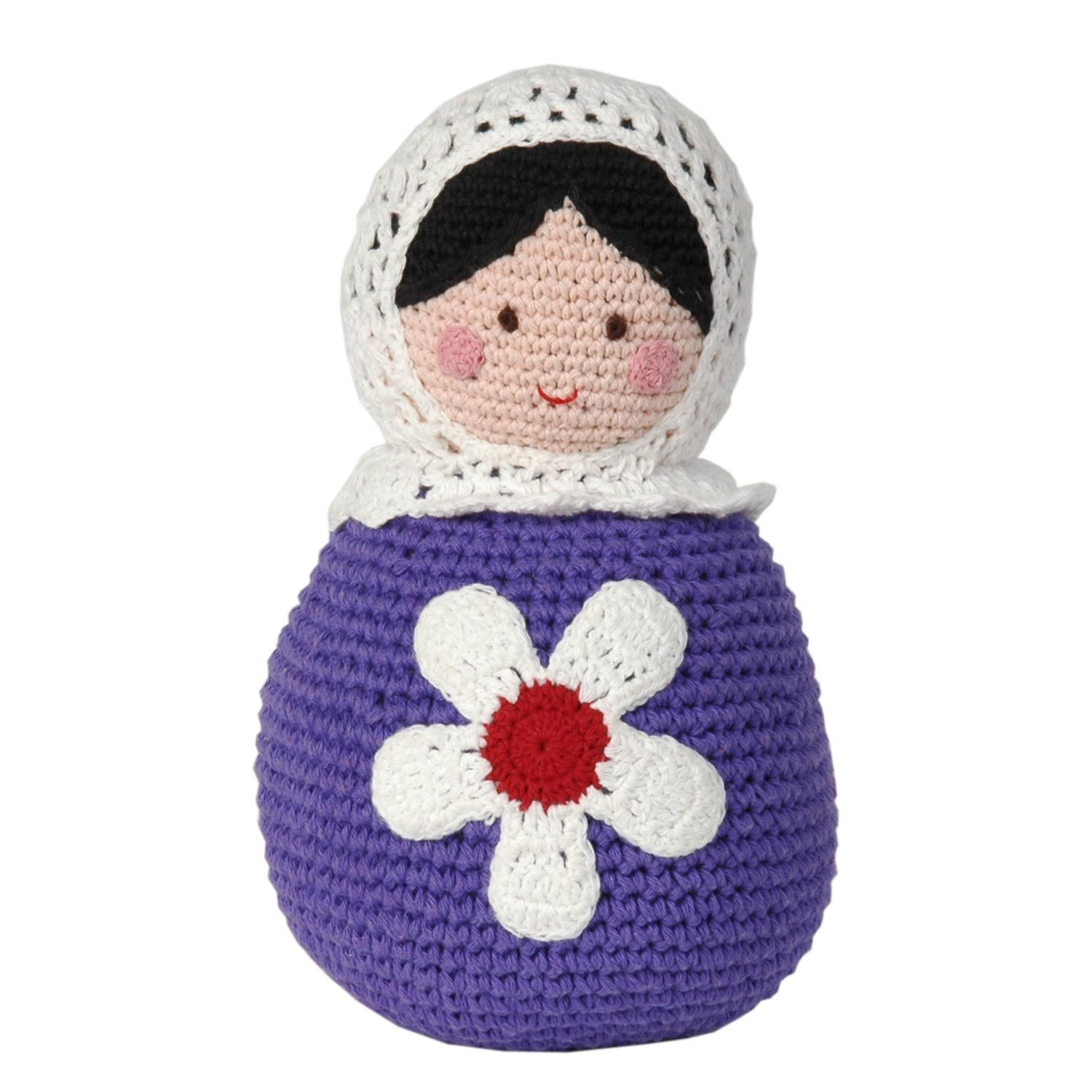 Crocheted Matryoshka Russian Dolls Russia Pinterest Puppe