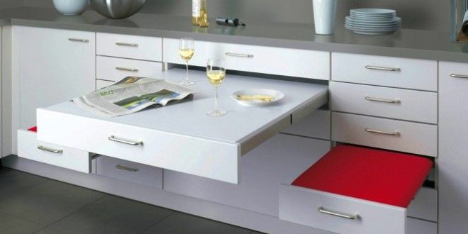 33 platzsparende ideen f r kleine k chen platzsparende m bel pinterest kleine wohnung. Black Bedroom Furniture Sets. Home Design Ideas