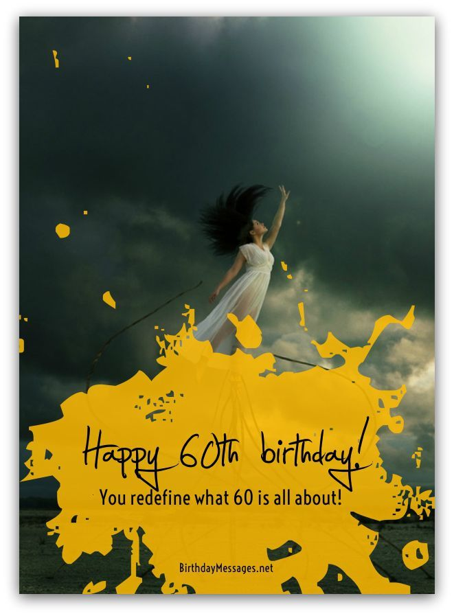 60th Birthday Wishes - Birthday Messages for 60 Year Olds ...