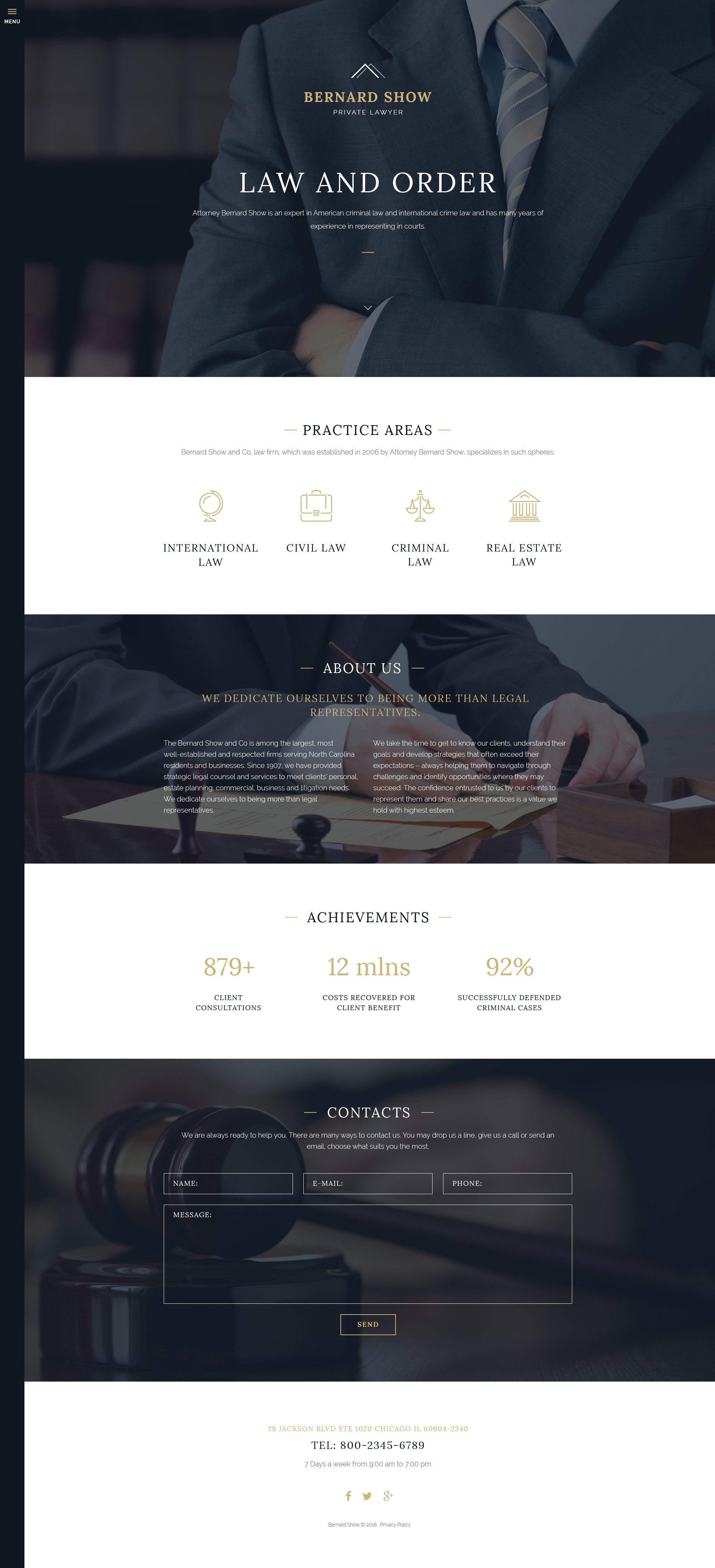 Lawyer Joomla Template | Lawyer, Template and Website