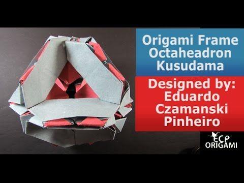 Origami Photo Frame Tutorial - Origami Easy - YouTube | 360x480