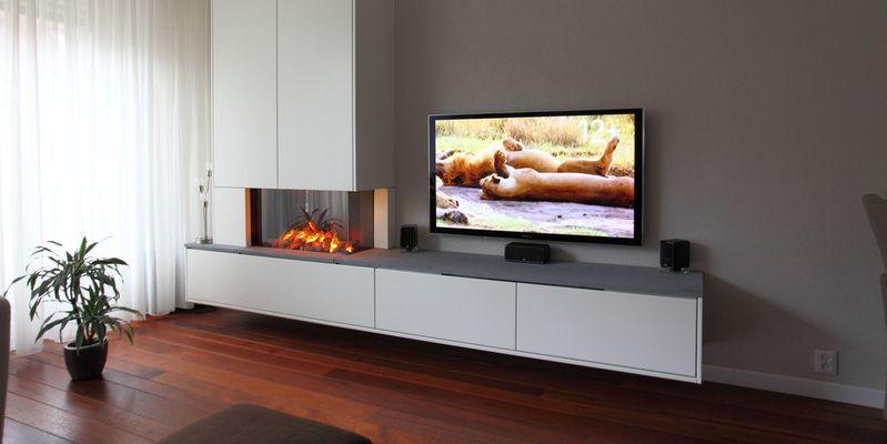 Trendy Tv Kast.Inbouw Pelletkachel Met Kast Tv Woonkamer Met Kachel Woonkamer