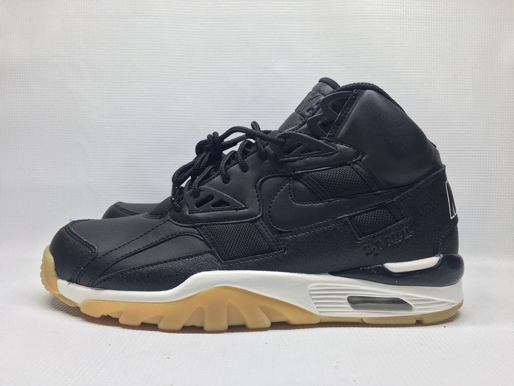 Nike Air Trainer SC Winter Bo Jackson Black Gum sole AA1120-001 NEW Size 9 7c5292942