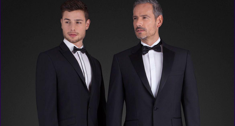 Mens Suit Hire - Suit Hire Dublin Ireland - black tie suit hire ...