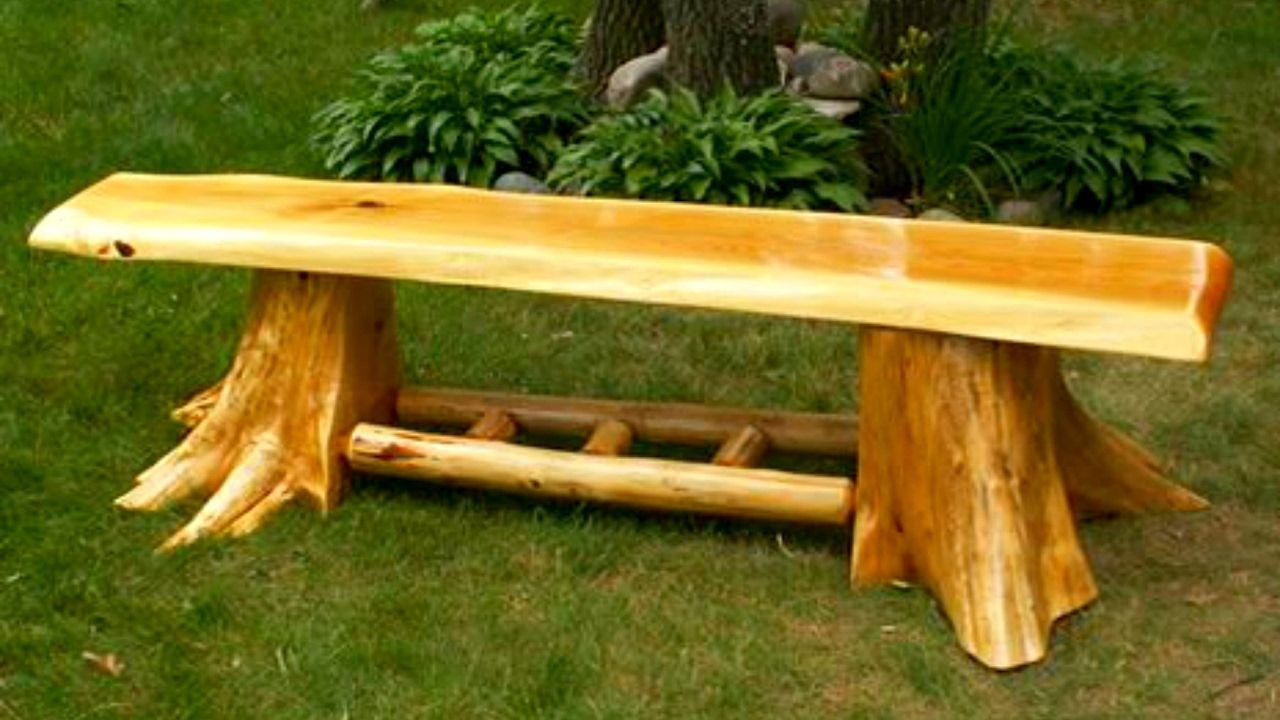 Bench Ideas How To Put The Piece Of Furniture In The Limelight Storiestrending Com Wood Bench Plans Fire Pit Decor Log Bench