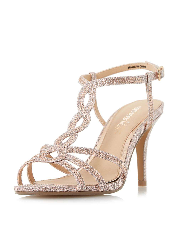 77b2c23c21b Womens  Head Over Heels By Dune Rose Gold  Mamboo  Sandals- ...