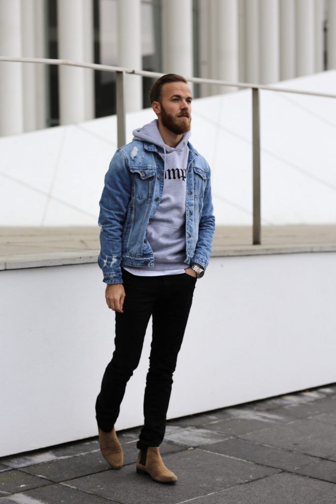 jeansjacke trend 2017 herren superjacken 2018. Black Bedroom Furniture Sets. Home Design Ideas