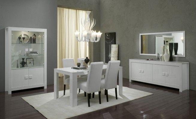 Eetkamer Wit Hoogglans : Eetkamer pisa wit hoogglans eetkamers pinterest eetkamers