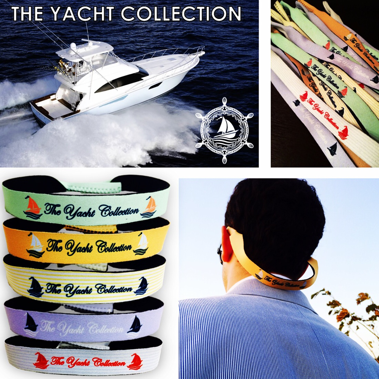 Never lose another pair of sunglasses again! Get your croakies today at www.theyachtcollect.com