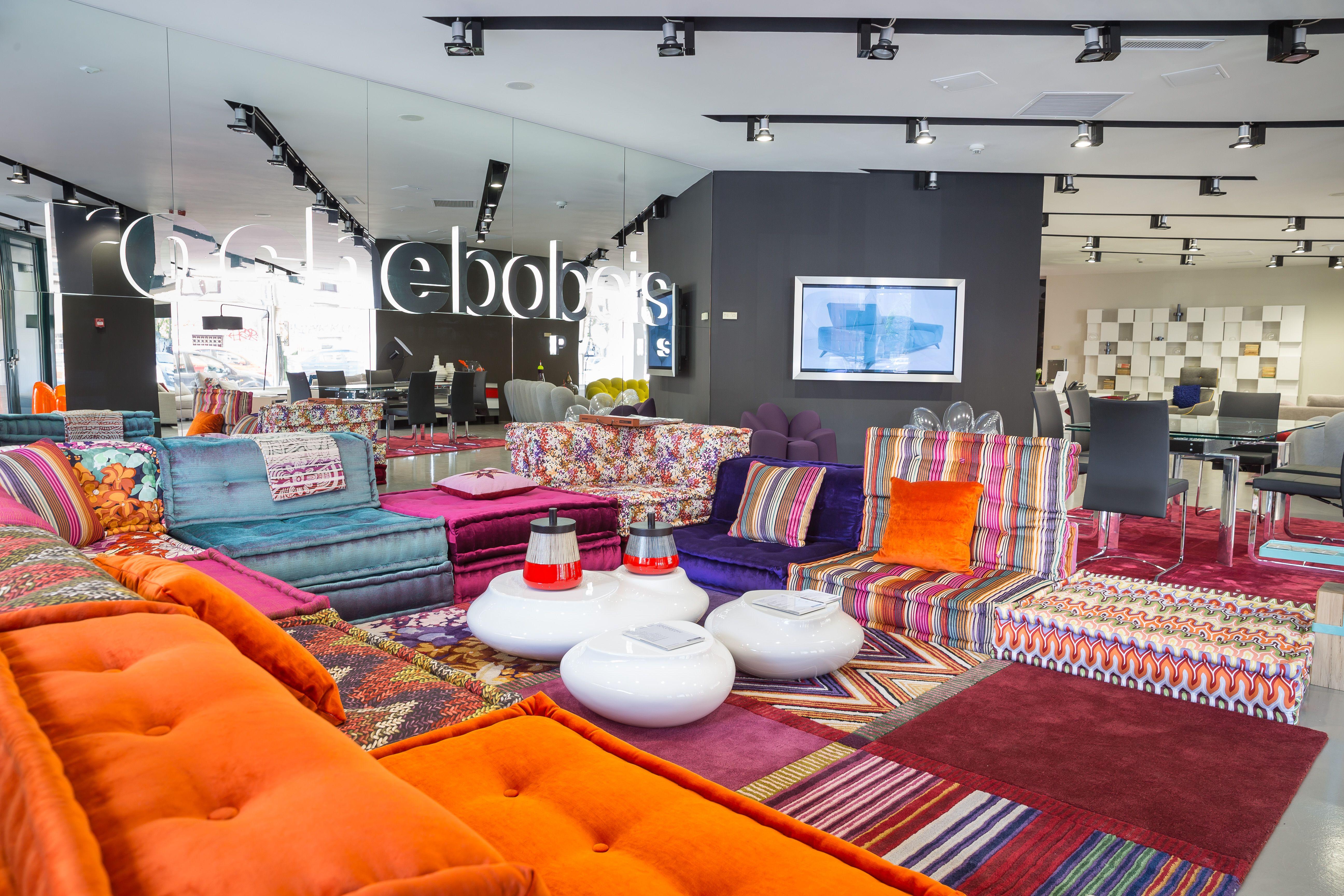 roche bobois opening showroom in bucharest romania interior arrangements pinterest. Black Bedroom Furniture Sets. Home Design Ideas
