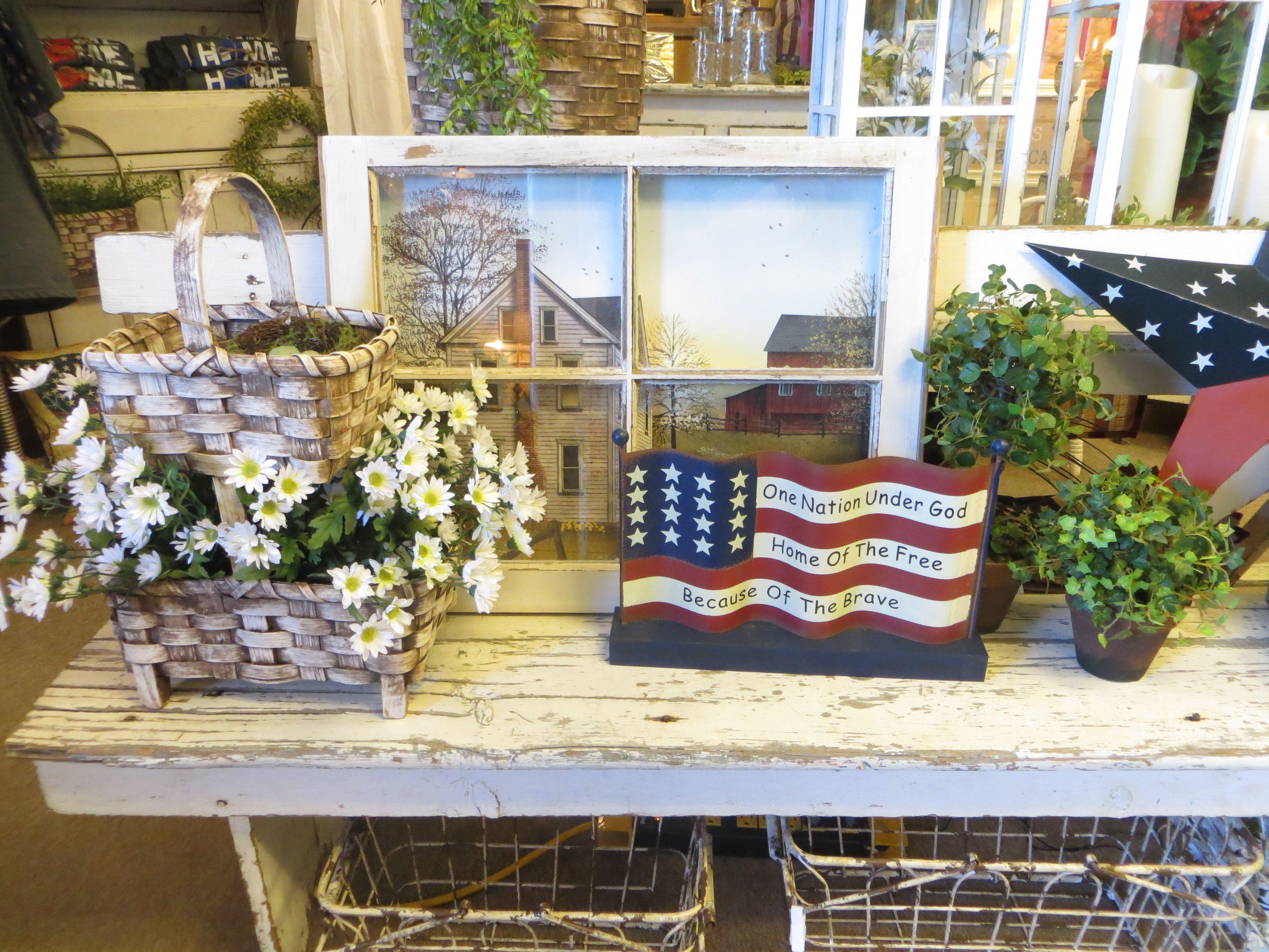 Americana Home Decor Decorating Ideas